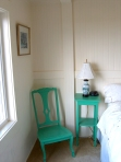 a nook in an upstairs bedroom